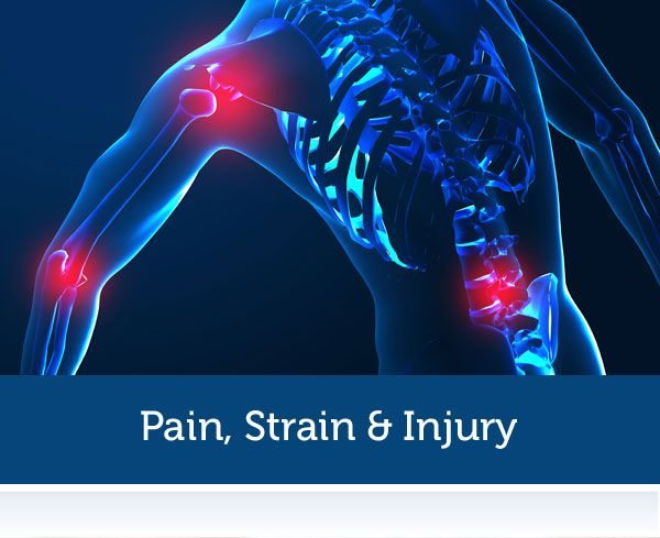 Pain, Strain & Injury